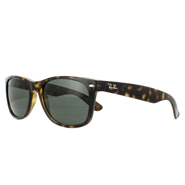 66c5a9e97 Ray-Ban Sunglasses New Wayfarer 2132 902/58 Tortoise Green Polarized 58mm  Large