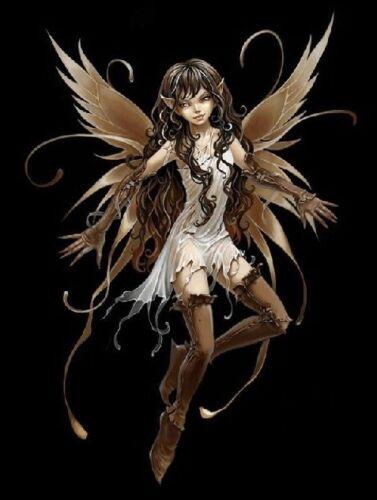 Water Dark Gothic Fairy Iron on Transfers Nature Fantasy Snow Light