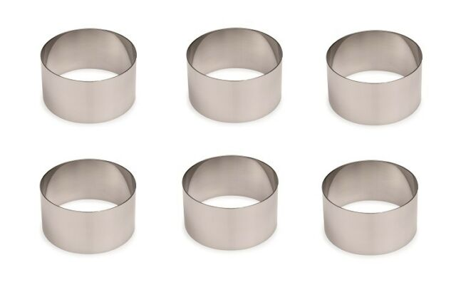 Backring Durchmesser: 14 cm Tortenring 4x Eistortenring Backen Ring
