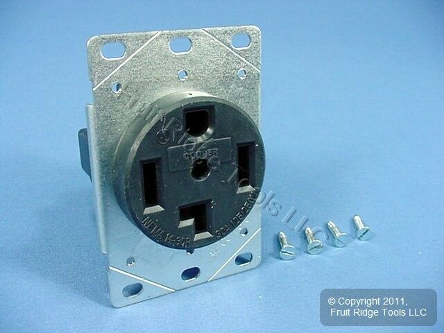 Cooper Receptacle Outlet Dryer Oven Range Stove 14-30 30a 125/250v ...