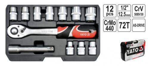 """Coffret de douilles à cliquet Boîte Boîte à outils typ2 1//2/"""" XS 12 pces"""