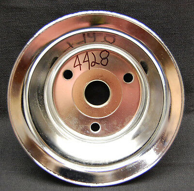 Spectre Performance 4399 Aluminum Double Belt Crankshaft Pulley for Small Block Chevy with Short Water Pump