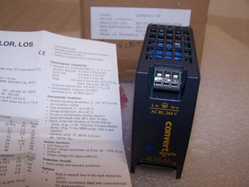 POWER ONE LOK4301-2R AC-DC Coverter Power Supply DIN Rail 12V 4A  NEW   J42