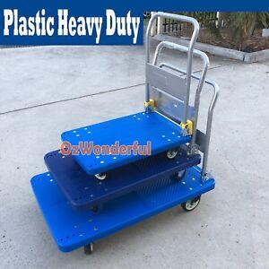 Plastic-Folding-Heavy-Duty-Platform-Trolley-Hand-Truck-Foldable-Cart-Industrial