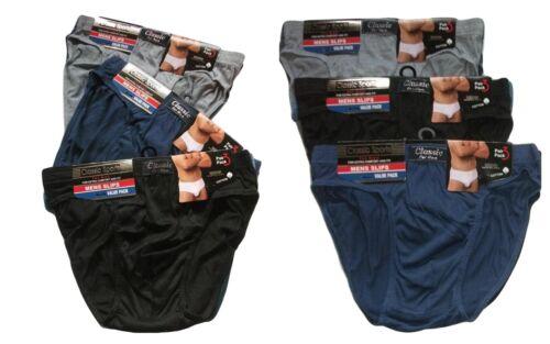Homme Slips Sous-vêtements Classique Sports Homme Hipster feuillets 2XL-3XL-4XL-5XL mslip-a-a