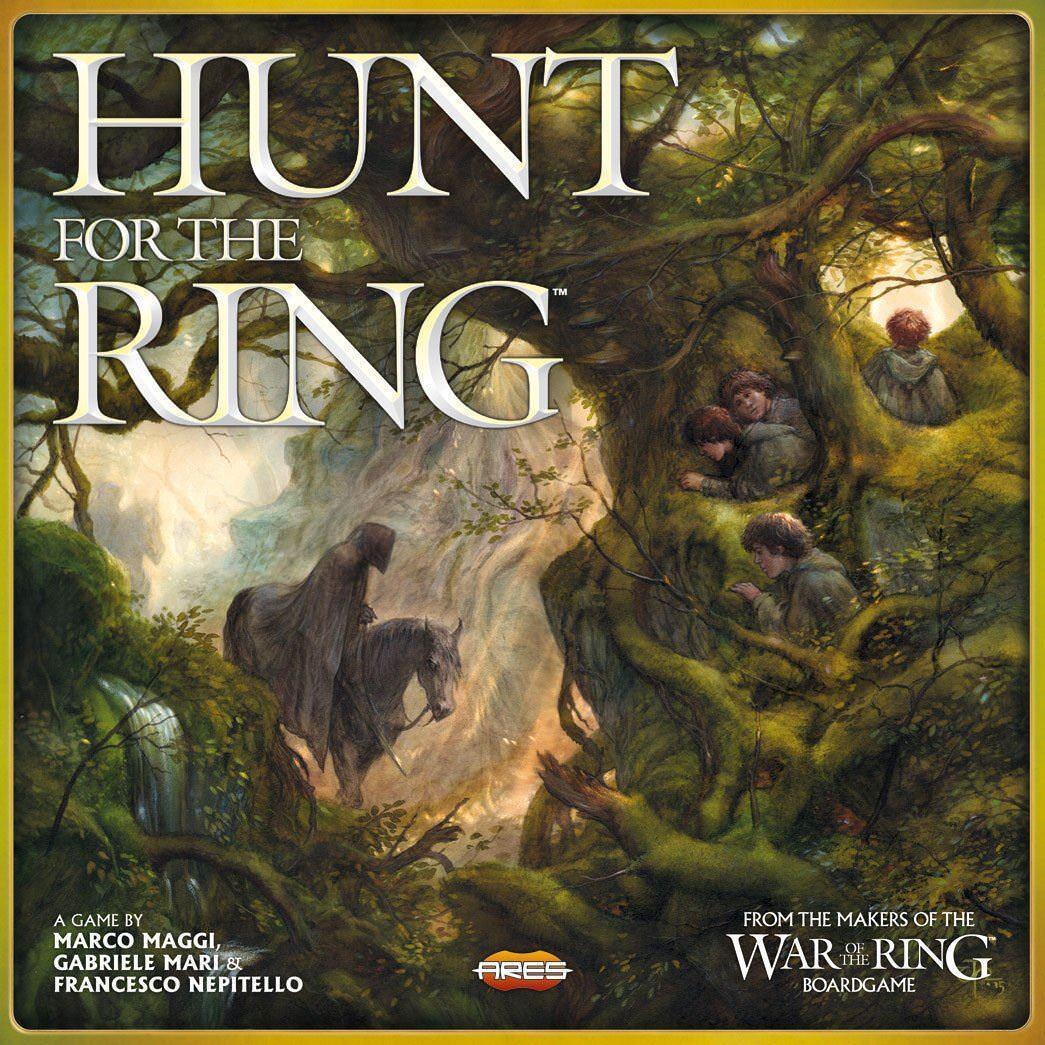 Jagd auf die ring -  herr der ringe  brettspiel