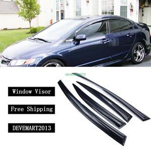 Delicieux Image Is Loading Window Visor Vent Rain Guard Deflector For Honda