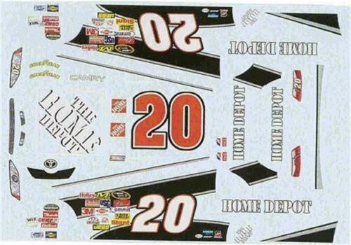 Winscals #20 Home Depot 2008-Tony Stewart Nascar decal