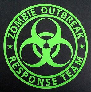1 New Lime Green Zombie Outbreak Response Team Biohazard
