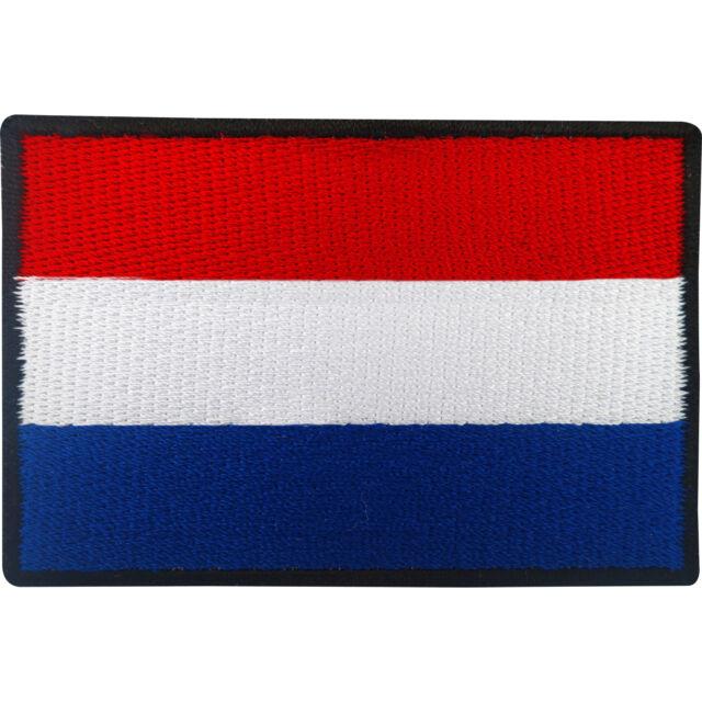 dutch flag patch iron sew on badge netherlands holland football