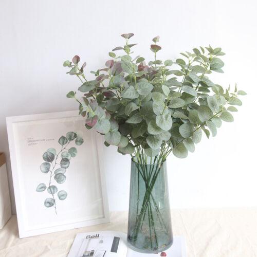 68cm Artificial Eucalyptus Fake Money Leaves Green Plant Leaf Flowers Home Decor