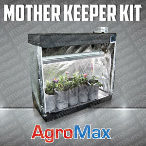Image is loading HTG-COMPLETE-MOTHER-KEEPER-GROW-TENT-KIT-T5- & HTG COMPLETE MOTHER KEEPER GROW TENT KIT T5 4 LAMP T5HO FLORO ...