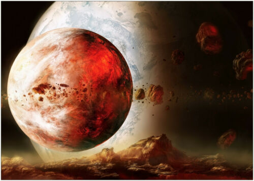 A0 A1 A2 A3 A4 Maxi Space Mars Planets Large Poster Wall Art Print