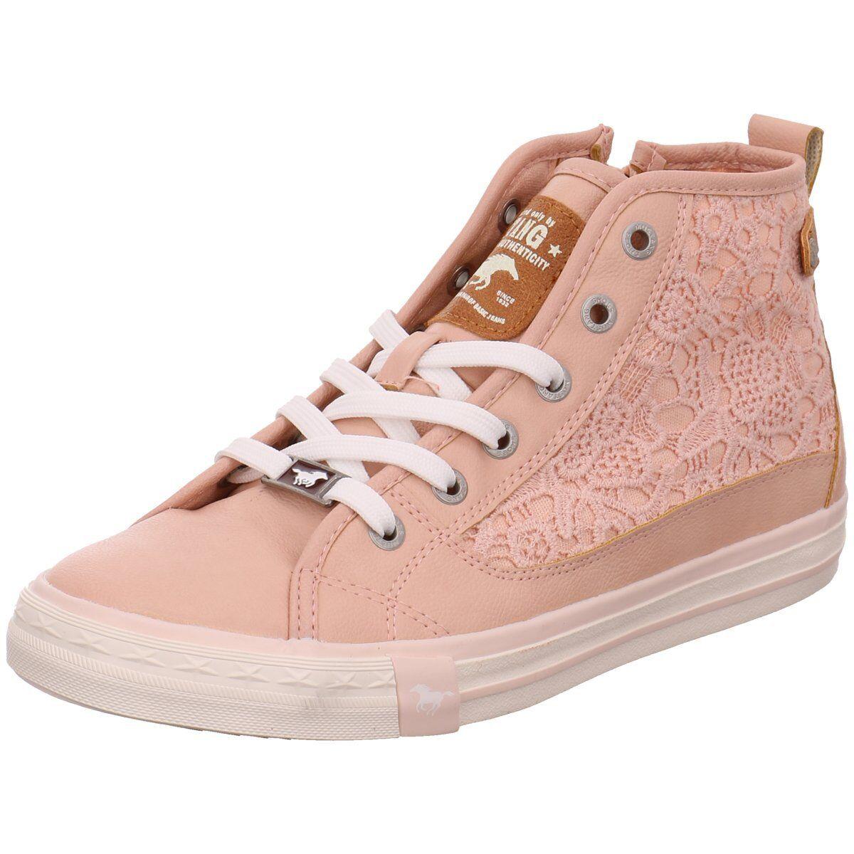 NEU rosa Mustang Damen Sneaker Schnürstiefelette Kaltfutter 5024-507-565 rosa NEU 220109 9209a5