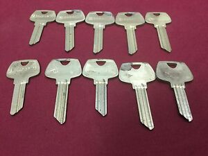Sargent CH & LC 5 Pin & 6 Pin Key Blanks, Set of 10 - Locksmith