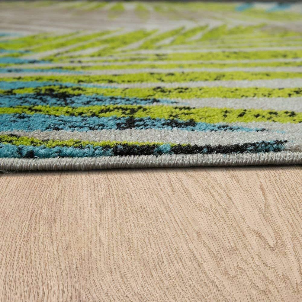 Modern Rug Cream Beige Blau Grün Grün Grün Pattern Mat Hard Wearing Carpet Small Large XL 79fdc7