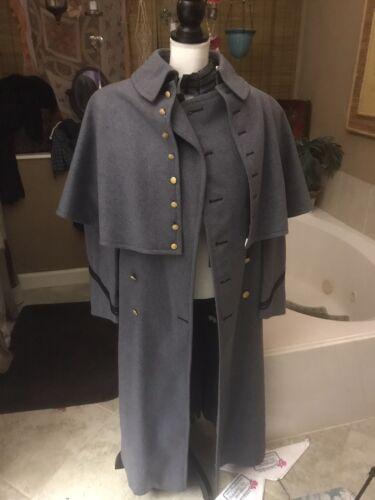 Vintage 1975 West Point Academy Cadet Dress Grey Uniform Military Jacket