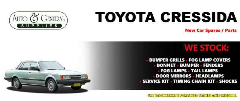 Toyota Cressida Parts and Spares For Sale.
