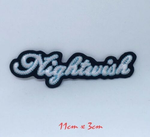 Nightwish metal rock band logo Embroidered Iron Sew on Patch #1357