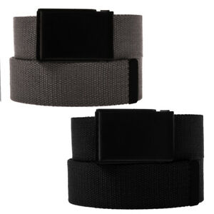 Men-s-Casual-Canvas-Web-Belt-Military-Style-Tactical-Polyester-Flip-Top-Buckle