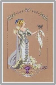 MIRABILIA-Counted-Cross-Stitch-Chart-AND-Charm-LADY-MIRABILIA-25th-Anniversary