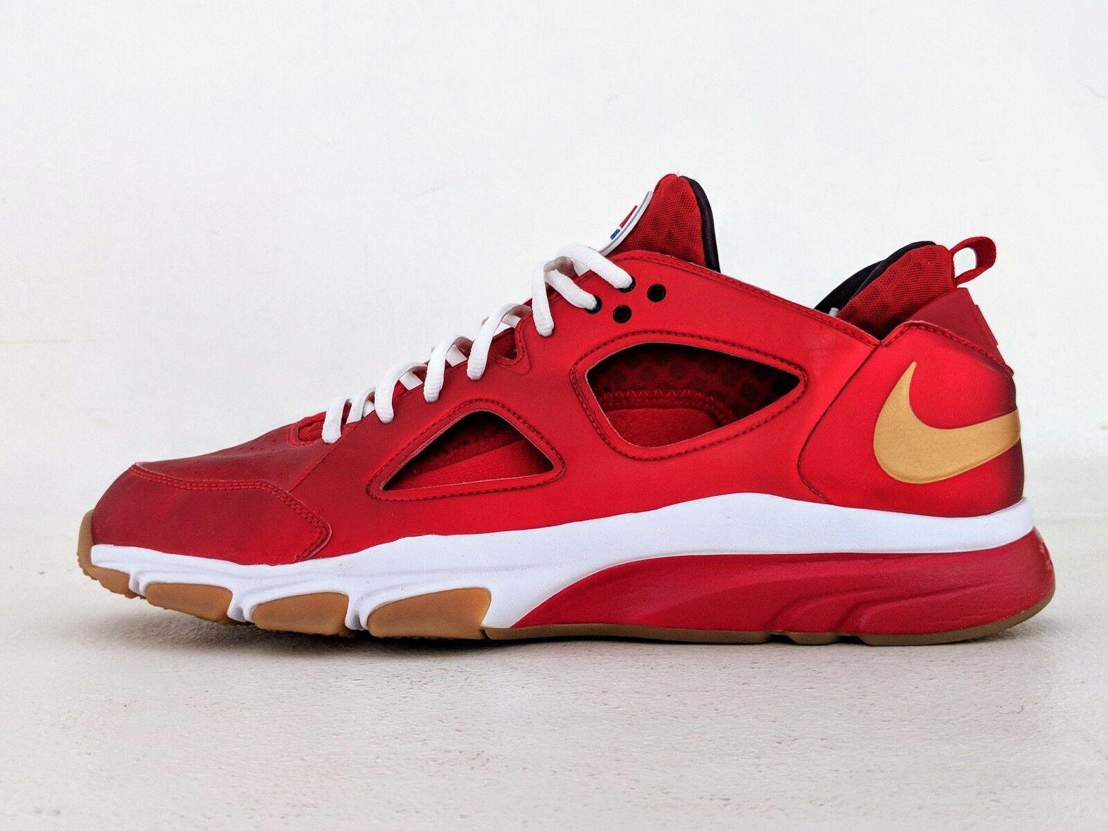 Nike zoom air huarache trainer basso ea sports sz 15 fight night 466512-671 qs del nuovo galles del sud