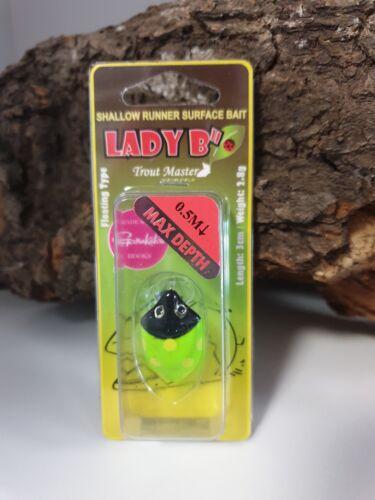 "Spro TM Trout Master Lady B/"" 6 Farben 3cm 2,8g Käfer Krabbelgruppe Beetle NEW"