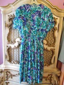 La-Milan-NY-Multi-design-Dress-SZ-16