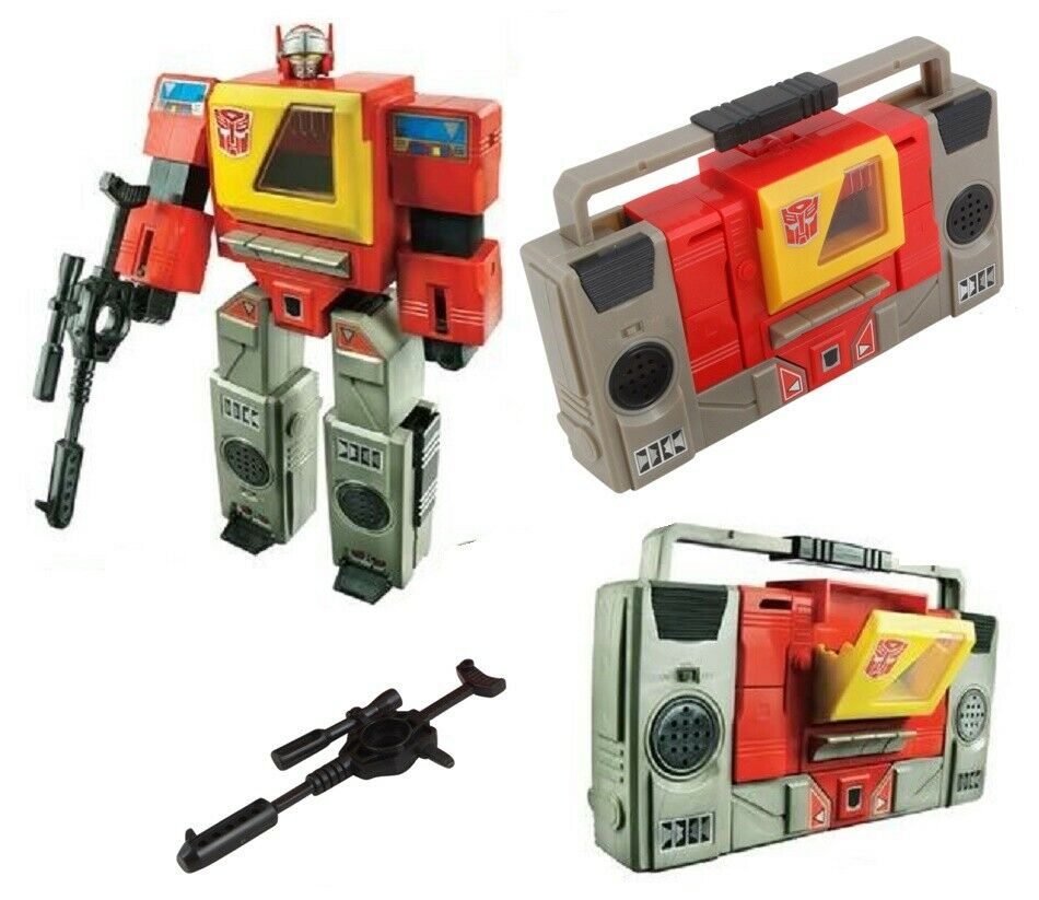 Transformers Hasbro Platinum G1 Carbot Cybertron Inter Ops Blaster New Loose