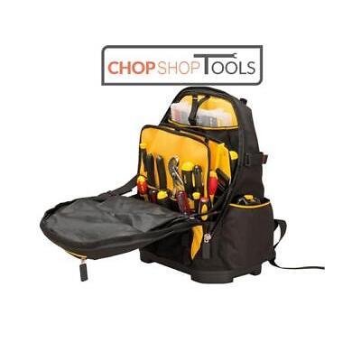 Stanley Fatmax Tool Backpack Box Bag Plumbers Electricians Rucksack 1-95-611