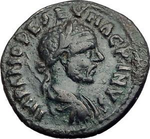 MACRINUS-217AD-Parium-Parion-MYSIA-Authentic-Ancient-Roman-Coin-GENIUS-i65105