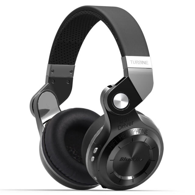Bluedio Turbine T2S Bluetooth Wireless Stereo Headsets Headphones MIC&Foldable