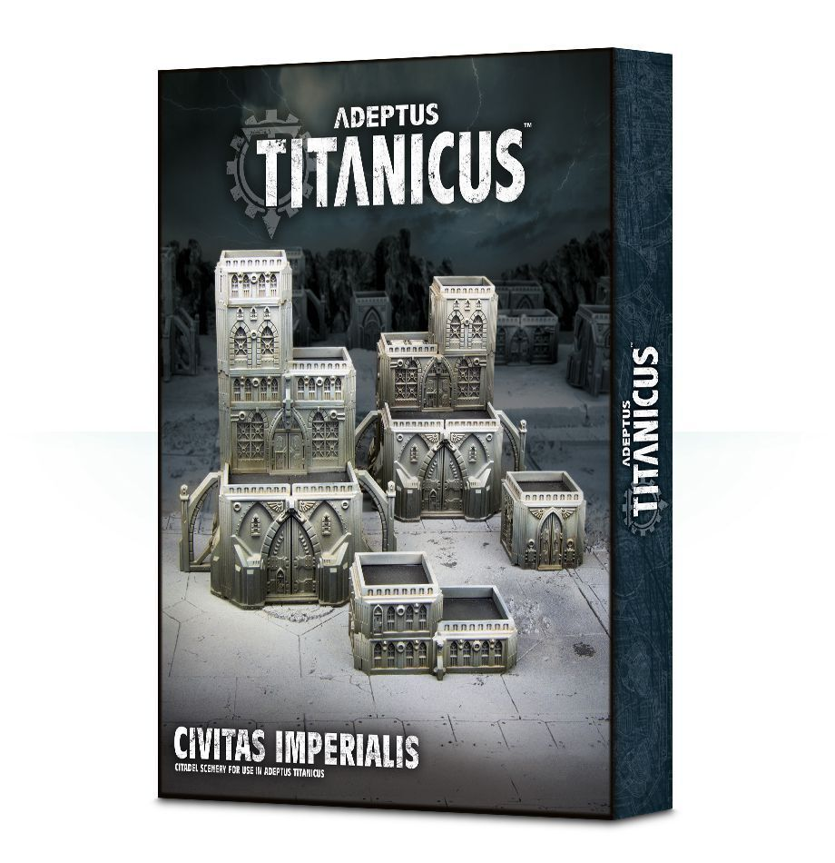 Adeptus Titanicus Civitas Imperialis  giocos lavoronegozio 40k Terreno Terrain Scenery  80% di sconto