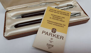Parker original ink pen and mechaical pencil in the box Made in the USA