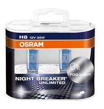 OSRAM H8 NIGHT BREAKER UNLIMITED H DUOBOX 2 St. 64212NBU ++NEU++
