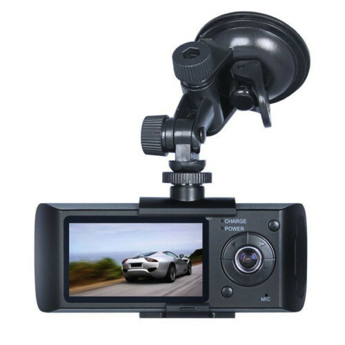 GPS Dual Lens Camera HD Car DVR Dash Cam Video Recorder G-Sensor Vision Charming