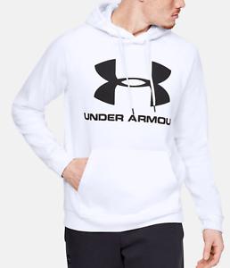Under Armour UA Rival Hustle Fleece ColdGear Team Drawstring Training Hoodie NWT
