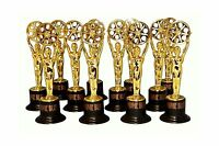12 Movie Buff Gold Statues For Hollywood Movie Awards Parties D... Free Shipping