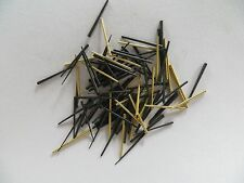 Brass and Steel Clock Tapered Pins - Assorted sizes - Package of 100