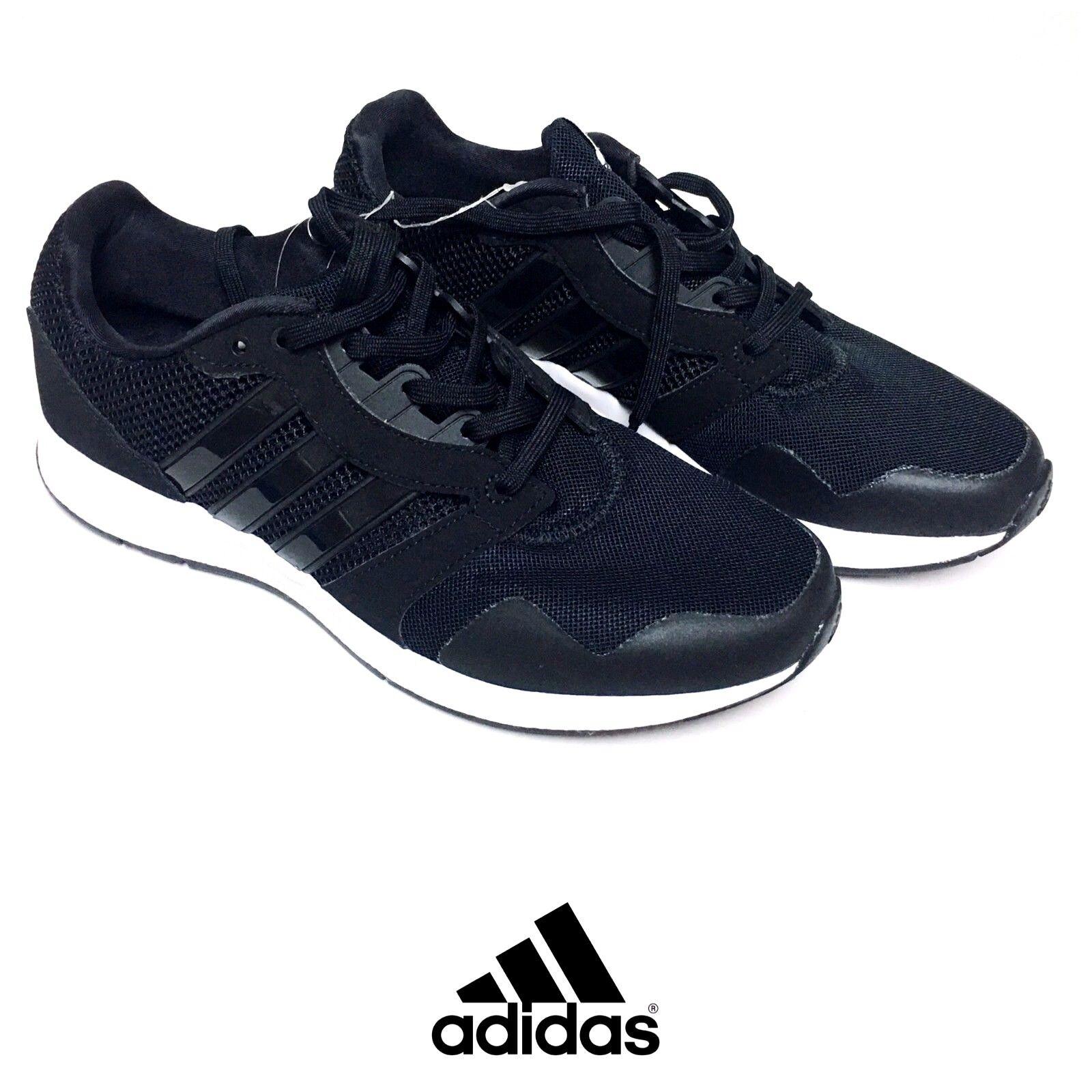 Adidas uomini delle attrezzature di 16 m, scarpe nero da corsa noi 8,5, nero scarpe la libera navigazione a6 c3420d