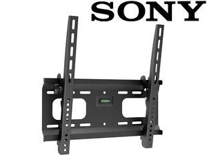 extended ultra slim tilt sony tv wall mount 37 39 43 48 49 50 55 led lcd. Black Bedroom Furniture Sets. Home Design Ideas