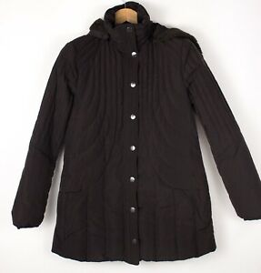 Armani Jeans Femme Imperméable Doudoune Manteau Taille Ue : 44 US: 8 ATZ8