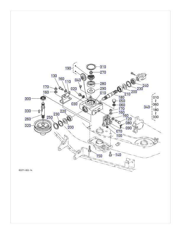 OEM Kubota Caja De Cambios Kit De Reparación K5351-33100 K5351-33104 RCK54-22BX RCK54-15BX