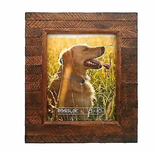 Buy Eosglac Rustic Wooden Picture Frame 8 X 10 Distressed Finish
