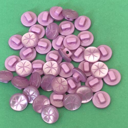 12 x 11m Bottoni Rosa #1285