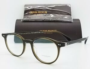 NEW-Oliver-Peoples-Delray-Frame-OV5318U-1573-47-Brown-Horn-AUTHENTIC-Round-5318