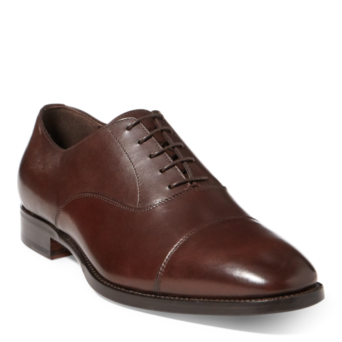 migliore vendita NIB Ralph Lauren Collection Calf Leather Leather Leather Bartsworth Oxfords Marrone  695   con il 60% di sconto