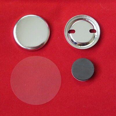 """1-1/4"""" 1.25 inch Magnet Tecre Button Machine Parts 100, 250, 500, 1000, 2000"""