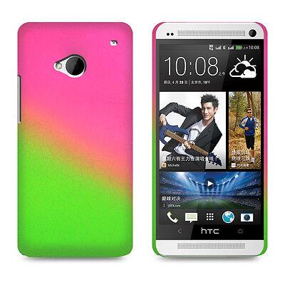 Für HTC One M7 Bumper Schutz Hülle Case Cover Schale Handy Tasche Displayfolie