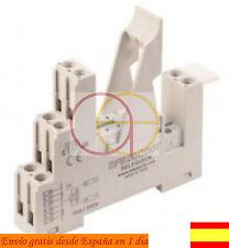 RELE: RELAY RELEVADOR RAIL DIN BORNAS Farnell Finder Omron Arduino SFB21C00T